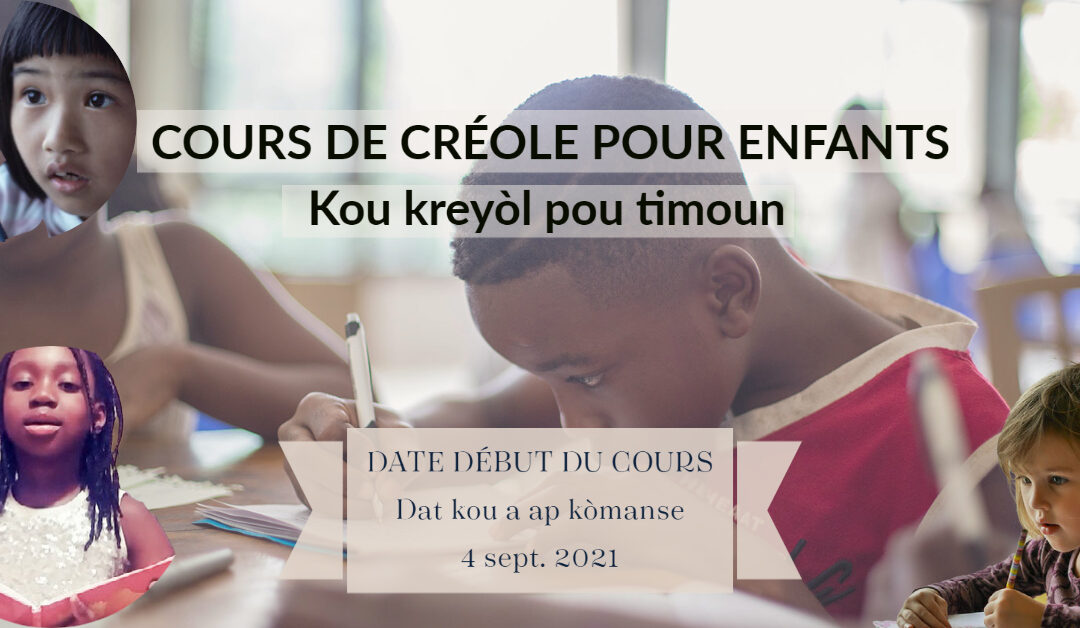 Cours de créole pour enfants
